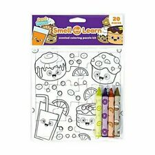 Scent Masters Coloring Puzzle: Breakfast Goodies - 20 Piece Puzzle with Scented