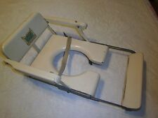 Vintage Little Toidey potty chair seat wooden sets on the stool adjustable