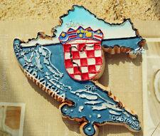 Kroatien Reiseandenken 3D Polyresin Kühlschrankmagnet Souvenir Magnet