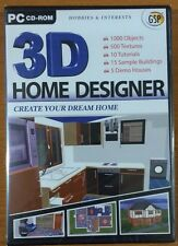 3D Home Designer Deluxe (PC CD) NEW SEALED FREE POSTAGE
