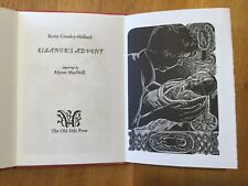 The Old Stile Press.  Eleanor's Advent.  Alyson MacNeill.  - signed copy.  1992.