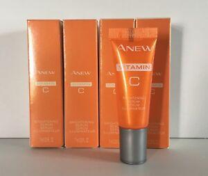 New Avon Anew VITAMIN C Brightening Serum Travel Size 1 oz total .23 oz. *Qty 4*