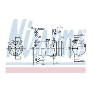 Fits BMW Z3 M 3.2 Genuine OE Quality Nissens A/C Air Con Compressor