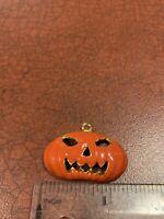 Argent Sterling .925 Persona Charm Citrouille Jack-o-lantern Halloween NEUF-B6