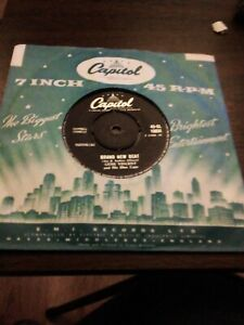 GENE VINCENT UNCHAINED MELODY  1958 CLASSIC 45   RARE