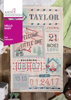 Hello, Baby! Anita Goodesign Embroidery Design Machine CD