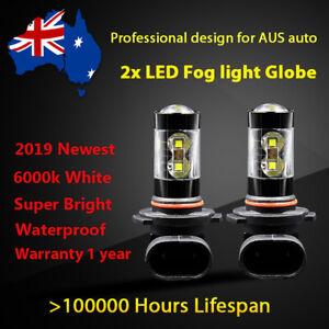 For Isuzu MU-X 2012-2016 Fog Light Globes Exterior 8000lm white LED Bulbs kit A1