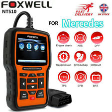 FOXWELL Car Diagnostic Tool ABS SRS,Oil,TPS,EPB TPMS OBD2 Scanner For Mercedes