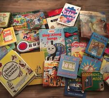 Lot Of 33 Toddler Preschool Books Bible Religious Train Sounds Books