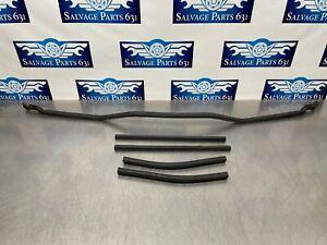 2008 Bmw 535i E60 OEM Set of Hood Weatherstrip Rubber Seals
