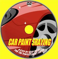 Learn Car body Panel Spray Painting Resprays Complete Training Video Guide DVD