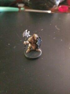 Dwarven Defender 2/60 Dungeons and Dragons Miniatures No Card