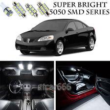 5050 SMD White LED Interior Lights Package Kit For 2005-2010 Pontiac G6 7pcs