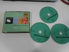 AUSTRALIAN BLONDE PACK 3 X CD - PIZZA POP + AUSTRALIAN B + AFTERSHAVE 2005
