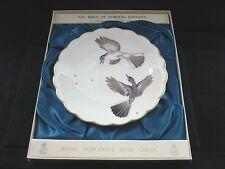 "1974 ROYAL WORCESTER    ""BIRDS OF DOROTHY DOUGHTY""  PLATE BLUE GREY GNATCATCHER"