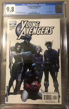 YOUNG AVENGERS 6 CGC 9.8 1ST CASSIE LANG as STATURE, Kate Bishop Key MCU/Disney+