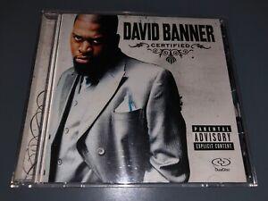 CD: DAVID BANNER - Certified (2005 Universal Records)Mississippi Crunk Rap
