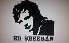 "LOVELY EMBROIDERED IMAGES TOWEL SET ""ED SHEERAN"""