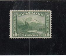 CANADA (MK5016) # 155  FVF-MNH  10cts  1928 MOUNT HURD,BC /SCROLL /GREEN CV $50