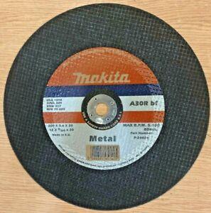 """MAKITA P-24474 300mm/12"""" Metal Cutting Discs 8 Pack 300mm x 3.6mm x 20mm"""