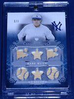 Babe Ruth Michael Jordan Lebron James Ulysses S. Grant  1/1 Autograph Bat Jersey