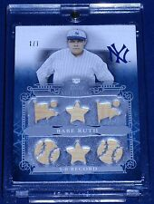 24<>Babe Ruth Game Worn/Used<>Single/Dual/Triple/7 piece Jersey/Bat ALL TRUE 1/1