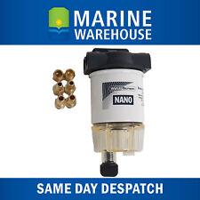 Fuel Filter Nano Element Assembly W/ Nylon Head & Bowl - Marine Outboard 203350
