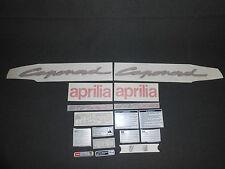 NEW GENUINE APRILIA ETV1000 CAPONORD 2005-2006 APRILIA BLACK DECAL SET AP8166491