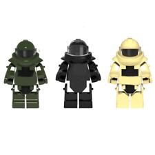 3pcs Military Armor Clothing Accessory For Building Blocks Bricks Figures Toys