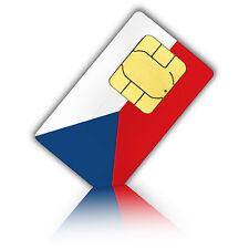SIM Karte für Tschechien mit 1GB mobiles Internet + 200 Min., Standard/Micro