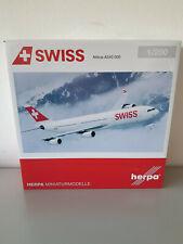 1:200 Herpa Wings 556712 Swiss International Air Lines Airbus A340-300, RARITÄT