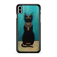 Jewellery Covered Ancient Egyptian Majestic Anubis Cat 2D Phone Case Cover