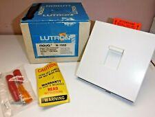 LUTRON Nova N-1503 Incandescent 3-way Dimmer Switch 1500w White NIB