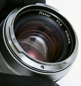 Contarex Carl Zeiss Planar 55mm f1.4 SILVER