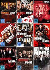 CRIMINAL MINDS 1-9 DIE KOMPLETTE DVD SEASON / STAFFEL 1 2 3 4 5 6 7 8 9 DEUTSCH