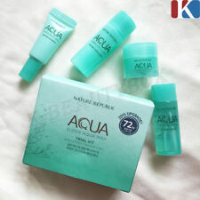 Nature Republic Super Aqua Max 4 Items Trial Kit Moisturizers Korean Skin Care