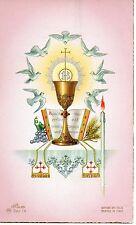 154 Eucarestia Spirito Santo   Santo Santino Holycard