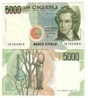 Italia 5000 5.000 lire Bellini pick 111c serie D FDS UNC rif. 4051