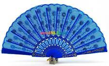 Abanico Azul Beautiful Blue Handfan For Virgen De Regla Yemaya Abanicos Blueab