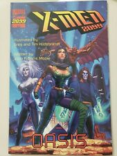 X-MEN 2099: OASIS PRESTIGE FORMAT GRAPHIC NOVEL 1996 MARVEL HILDEBRANDT ART! NM