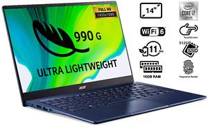 "ACER Swift 5 14"" FHD IPS Touchscreen Intel Core  i7-1065G7 512GB SSD 16GB RAM"