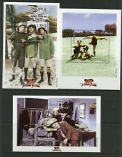 MONGOLIA 1998 'THE THREE STOOGES'  SC#2338/40 SET OF THREE S/Ss  MINT  NH