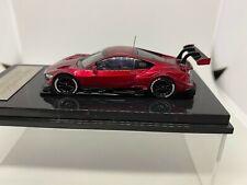 OEM 1:64 Honda Nsx Concept-Gt Super Gt Red Bus Metallic