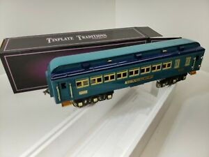 "MTH BLUE COMET CAR ""HALLEY"" #423 STANDARD GAUGE TINPLATE TRADITIONS 10-1114D"