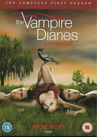THE VAMPIRE DIARIES - 5 DVD set - Season 1 - DVD Zone 2 - UK