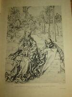 Albrecht DÜRER (1471-1528) HELIOGRAVURE SAINTE FAMILLE VIERGE RENAISSANCE DURER