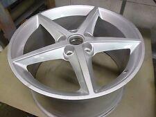 2011-2013 Chevy Corvette 19 X 10 Inch Silver Alloy Wheel # 5491 REAR # 3