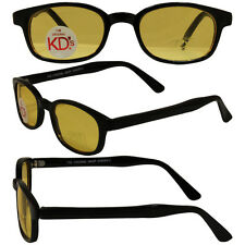 Sons of Anarchy Style Original KD's Biker Sunglasses with Yellow Lenses