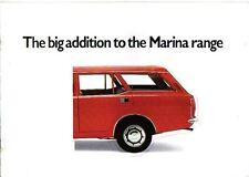 MORRIS Marina 1.8 Estate serie 1 1972-73 ORIGINALE UK SALES BROCHURE PUB NO 2947