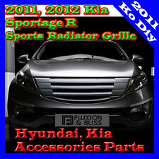 Front Radiator Tuning Sports Grill Grilles 3Color For 2011~2015+ Kia Sportage R